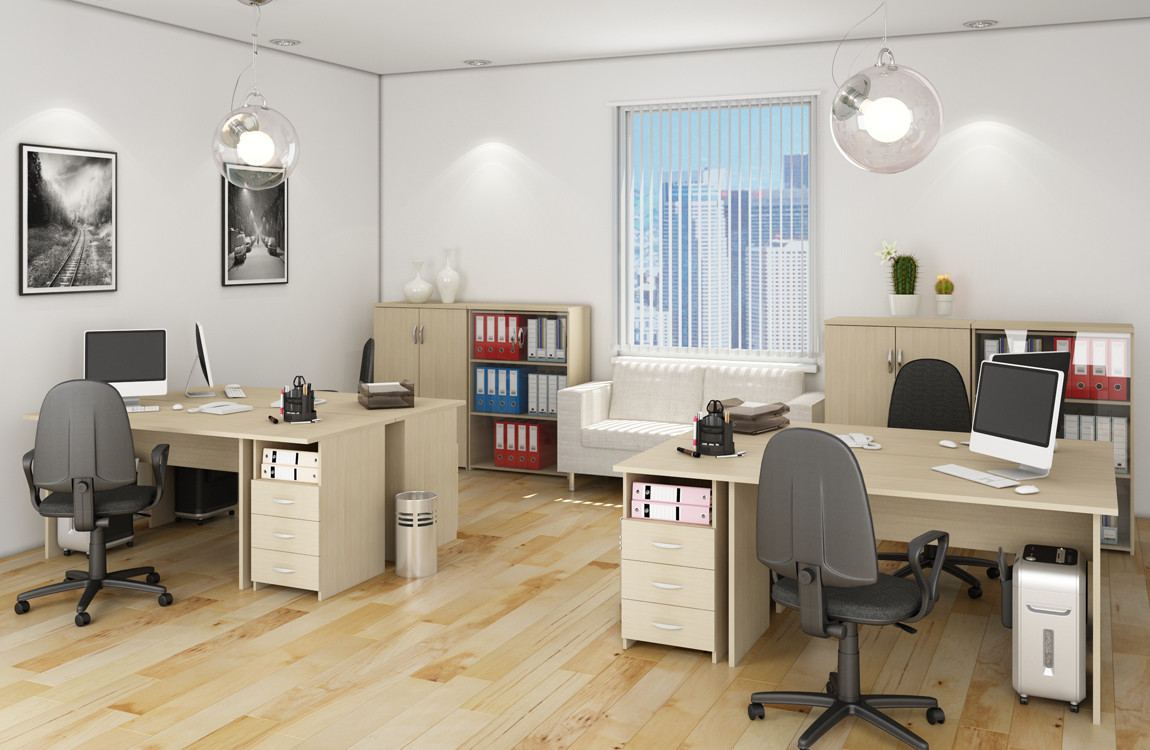Interiors, office